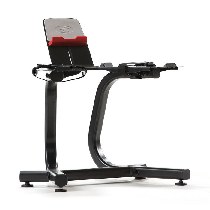 Supporto SelectTech Bowflex con ripiano per dispositivi multimediali