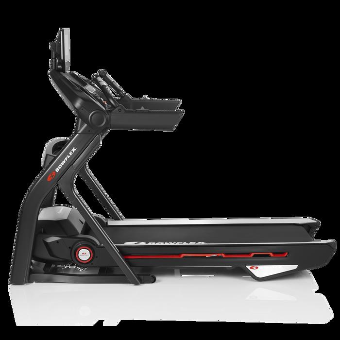 Treadmill 25 in folded position.