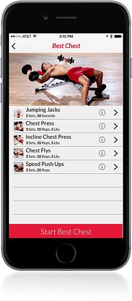 App Bowflex App - Innovazione
