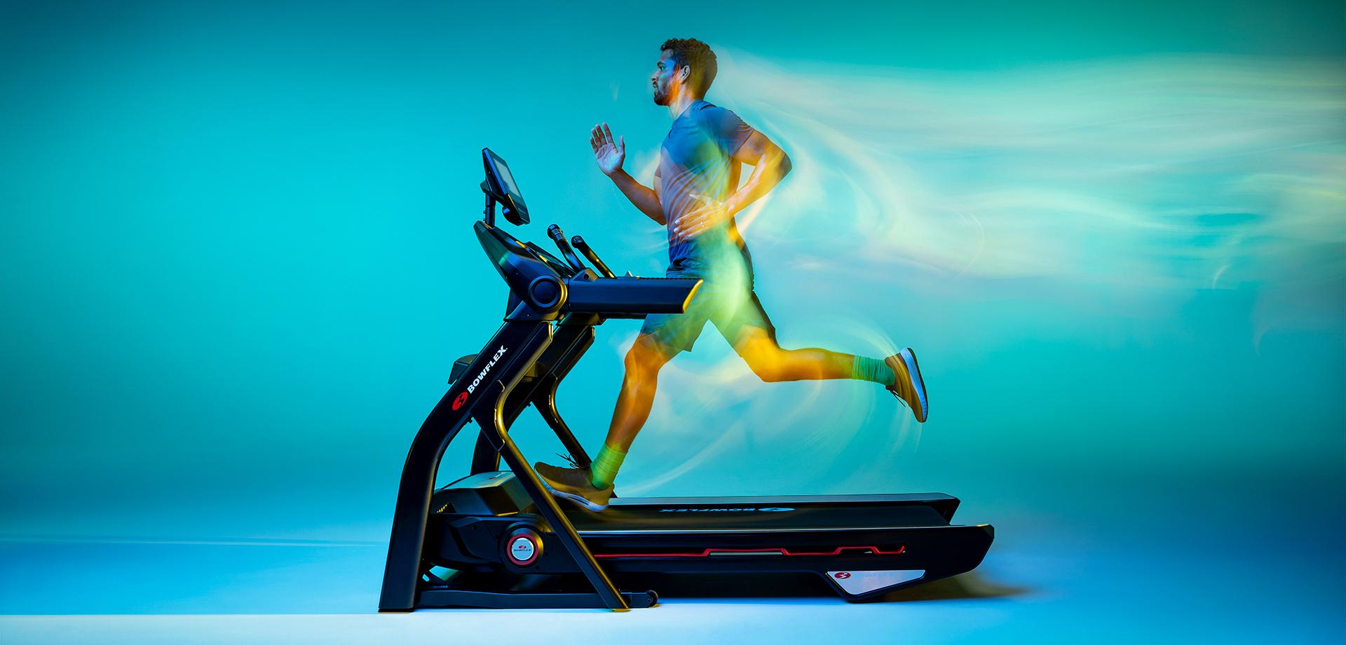 Man running on Treadmill 25