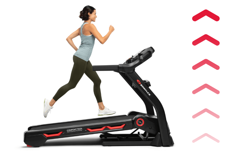 Treadmill 18 comes with motorized incline up to 15%.