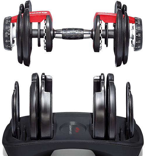 Adjustable Dumbbells from SelectTech