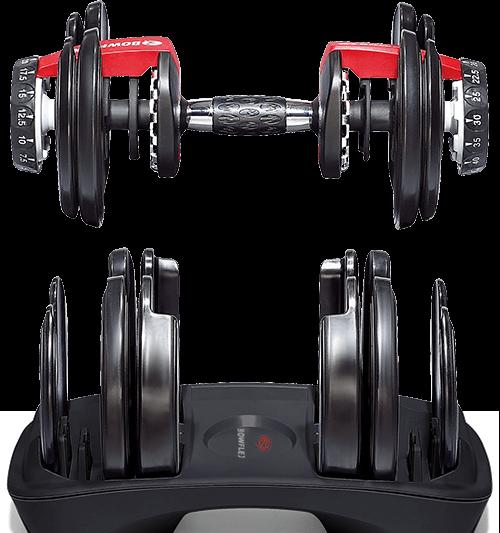 Manubri con peso regolabile di SelectTech