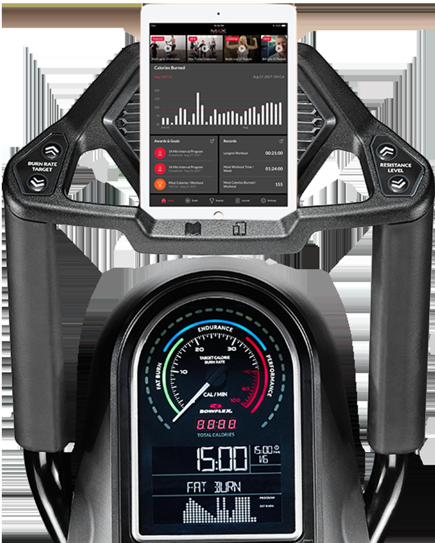 Console y Aplicación Max Trainer M7