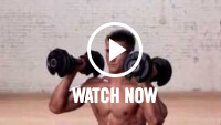 Video sugli affondi alla shoulder press