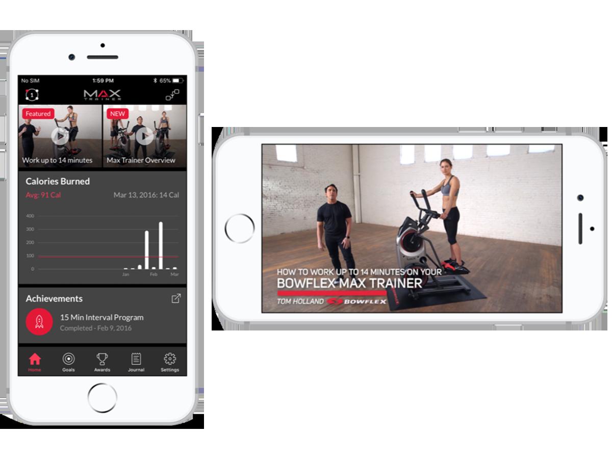 Aplicación Max Trainer - Connect