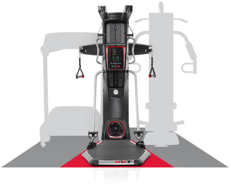 Size of the HVT versus a treadmill or traditional home gym
