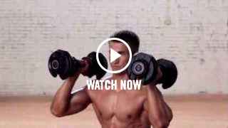Watch the Lunge with a Shoulder Press Video