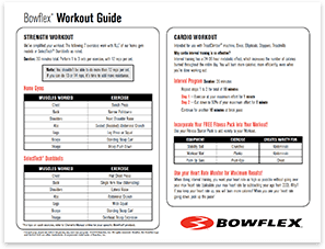 Bowflex Workout Guide PDF