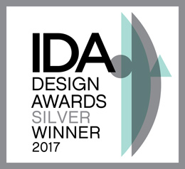 Vencedor da medalha de prata do prémio IDA Design 2017